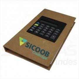 Bloco de Anotações c/ Calculadora 12520