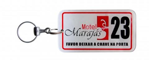 Chaveiro Acrílico Hotel