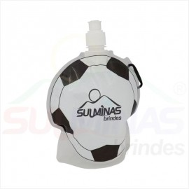 Squeeze Dobrável Formato Bola 750ml - 12584